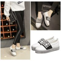 SHS2582 MATERIAL PU COLOR WHITE SIZE 36