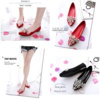 SHS7266 MATERIAL PU COLOR RED SIZE 35