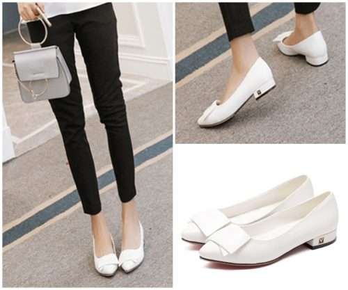 SHS9421 MATERIAL PU COLOR WHITE SIZE 35