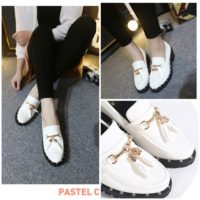 SHS9961 MATERIAL PU COLOR WHITE SIZE 35