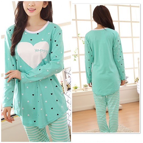 SS62021 IDR.125.000 MATERIAL COTTON-SIZE-M,L-TOP76,78CM-PANT85,87CM-BUST96,100CM WEIGHT 300GR COLOR GREEN