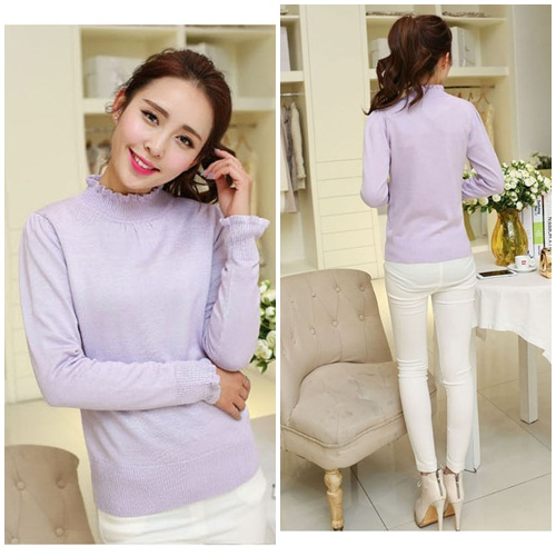 T10172 IDR.110.000 MATERIAL KNITTING-LENGTH58CM,BUST80CM WEIGHT 240GR COLOR PURPLE