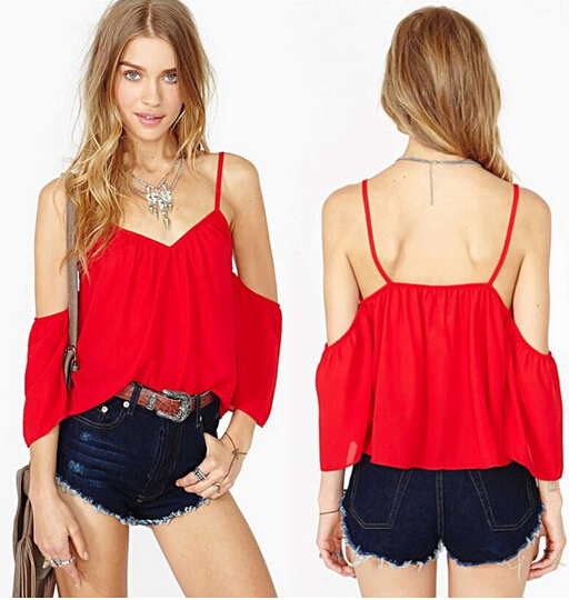 T36659 IDR.100.000 MATERIAL CHIFFON SIZE M LENGTH52CM-BUST82CM WEIGHT 150GR COLOR RED.jpg