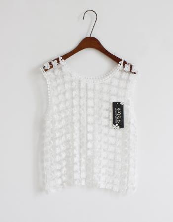 T37908 IDR.105.000 MATERIAL LACE-LENGTH-58CM-BUST-90CM WEIGHT 150GR COLOR WHITE