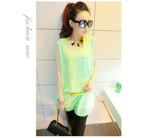 T3842 IDR.11O.OOO MATERIAL COTTON+CHIFFON-LENGTH-INNER-64CM-OUTER-76CM-BUST-96CM-(WITH-BELT) WEIGHT 230GR COLOR GREEN.jpg