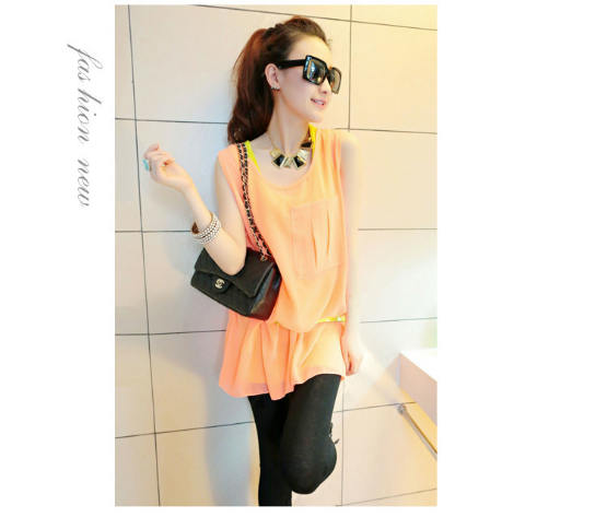 T3842 IDR.11O.OOO MATERIAL COTTON+CHIFFON-LENGTH-INNER-64CM-OUTER-76CM-BUST-96CM-(WITH-BELT) WEIGHT 230GR COLOR ORANGE.jpg