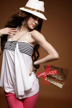 T5348 IDR.86.OOO MATERIAL COTTON-LENGTH-53CM,BUST-60-80CM WEIGHT 170GR COLOR WHITE