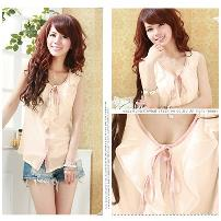 TJ5261 IDR.96.OOO MATERIAL CHIFFON-LENGTH-52CM-BUST-86CM WEIGHT 220GR COLOR PINK