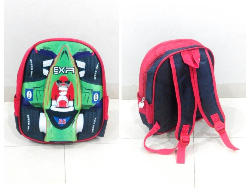 TR003 IDR 90.000 Tas Ransel Formula 1 SIZE L29XW12XH32CM WEIGHT 400GR COLOR GREEN