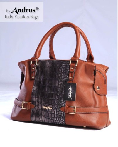 Tas Branded ANDROS - AB0223 IDR. 250.000 BAHAN PU SIZE L36XH25XW18CM WEIGHT 1000GR COLOR BROWN