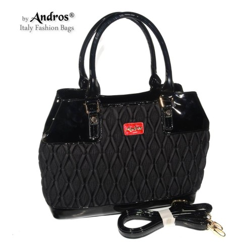 AB0270 Grosir Tas Branded - IDR 255.000 MATERIAL PU SIZE L38XH27XW15CM WEIGHT 1200GR COLOR BLACK