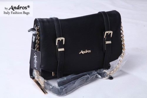 Tas Branded ANDROS - AB7944 IDR 230.000 MATERIAL PU SIZE L27XH21XW10CM WEIGHT 800GR COLOR BLACK