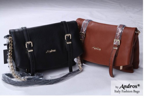 Tas Branded ANDROS - AB7944 IDR 230.000 MATERIAL PU SIZE L27XH21XW10CM WEIGHT 800GR COLOR BROWN