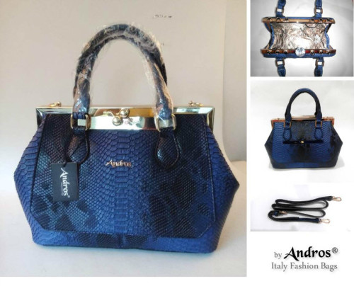 AB8082 - Grosir Tas Import IDR 285.000 MATERIAL PU SIZE L35XH23XW12CM WEIGHT 1300GR COLOR BLUE