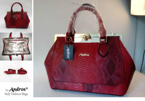 AB8082 - Grosir Tas Import IDR 285.000 MATERIAL PU SIZE L35XH23XW12CM WEIGHT 1300GR COLOR RED