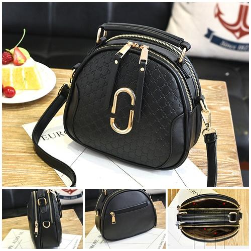 Jual B0102-black Tas Selempang Mini Modis - GrosirImpor.com 036851366b