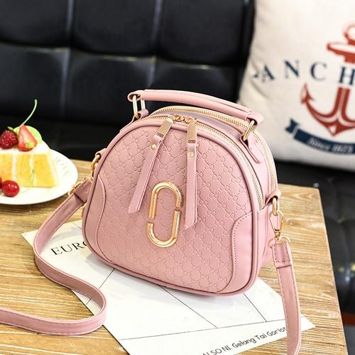Jual B0102 Pink Tas Selempang Mini Modis