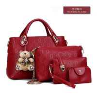 B077 (4in1) MATERIAL PU SIZE L32XH22XW10CM WEIGHT 1000GR COLOR RED