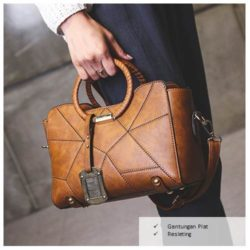 B100 MATERIAL PU SIZE L26XH20XW12CM WEIGHT 750GR COLOR BROWN