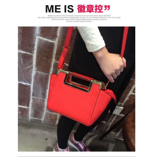 B1034 MATERIAL PU SIZE L22XH19XW12CM WEIGHT 700GR COLOR RED