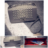 B1118 - Harga sebelum Diskon IDR.190.000 MATERIAL PU SIZE L25XH14XW7CM WEIGHT 600GR COLOR GRAY