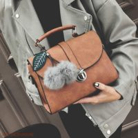 B1459 MATERIAL PU SIZE L23XH16XW10CM WEIGHT 600GR COLOR BROWN
