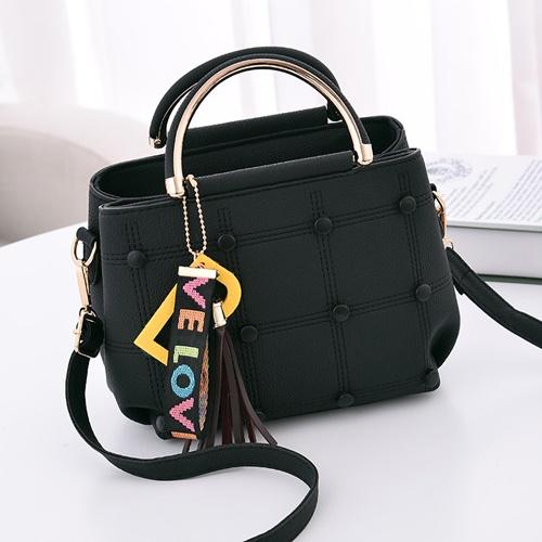Jual B1815-black Tas Selempang Wanita LOVE - GrosirImpor.com 218fc062a3