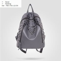 B1903 MATERIAL PU SIZE L30XH35XW12CM WEIGHT 700GR COLOR GRAY