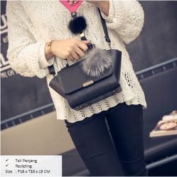 B1923 MATERIAL PU SIZE L18XH16XW9CM WEIGHT 600GR COLOR BLACK