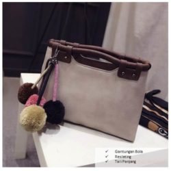 B2016 IDR.182.000 MATERIAL PU SIZE L35XH20XW10CM WEIGHT 700GR COLOR GRAY