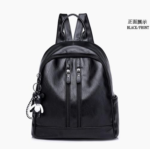 Jual B210 Black Tas Ransel Fashion Modis