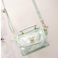 B2166 - Harga sebelum Diskon IDR.152.000 MATERIAL PU SIZE L19XH16XW10CM WEIGHT 600GR COLOR GREEN