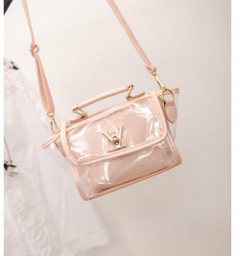 B2166 - Harga sebelum Diskon IDR.152.000 MATERIAL PU SIZE L19XH16XW10CM WEIGHT 600GR COLOR LIGHTPINK