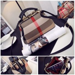 B2443 MATERIAL CANVAS SIZE L26XH15XW14CM WEIGHT 700GR COLOR BLACK MOTIF RANDOM