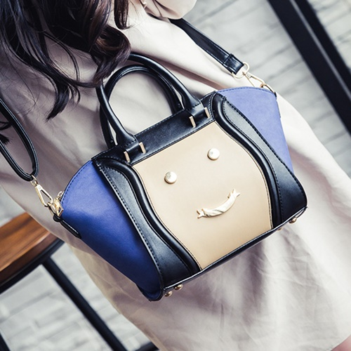 B2526  MATERIAL PU SIZE L23XH22XW14CM WEIGHT 800GR COLOR BLUE