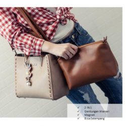 B2533185.000 MATERIAL PU SIZE L25XH22XW12CM WEIGHT 800GR COLOR LIGHTBROWN