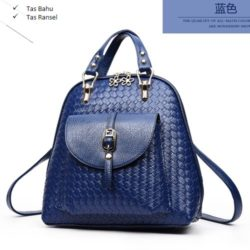 B2541 MATERIAL PU SIZE L27XH28XW12CM WEIGHT 750GR COLOR BLUE