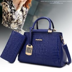 B2573 (2in1) MATERIAL PU SIZE L30XH20XW15CM WEIGHT 1100GR COLOR BLUE
