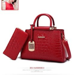 B2573 (2in1) MATERIAL PU SIZE L30XH20XW15CM WEIGHT 1100GR COLOR RED