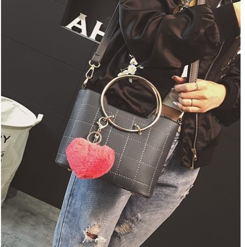 B2601 MATERIAL PU SIZE L21XH17XW9CM WEIGHT 700GR COLOR GRAY