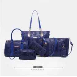 B2614 MATERIAL PU SIZE L34XH29XW11CM WEIGHT 1350GR COLOR BLUE