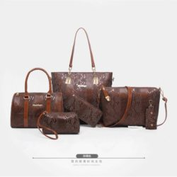 B2614 MATERIAL PU SIZE L34XH29XW11CM WEIGHT 1350GR COLOR BROWN