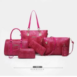 B2614 MATERIAL PU SIZE L34XH29XW11CM WEIGHT 1350GR COLOR ROSE