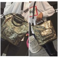B2632 MATERIAL PU SIZE L26XH31X16CM WEIGHT 800GR COLOR GOLD