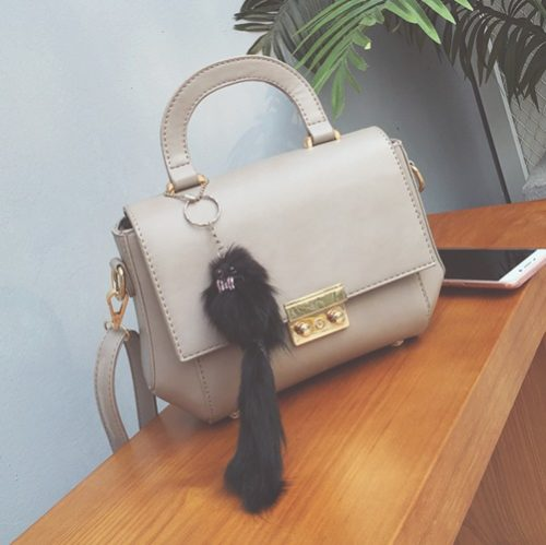 B2647 MATERIAL PU SIZE L25XH17XW10CM WEIGHT 600GR COLOR GRAY