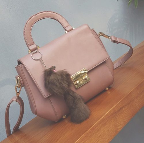 B2647 MATERIAL PU SIZE L25XH17XW10CM WEIGHT 600GR COLOR PINK