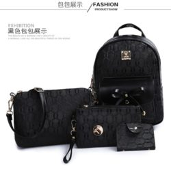 B2660 MATERIAL PU SIZE L23XH30XW12CM WEIGHT 800GR COLOR BLACK