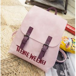 B2674 MATERIAL PU SIZE L24XH28XW12CM WEIGHT 600GR COLOR PINK