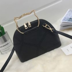 B2696 MATERIAL PU SIZE L23XH17XW10CM WEIGHT 600GR COLOR BLACK