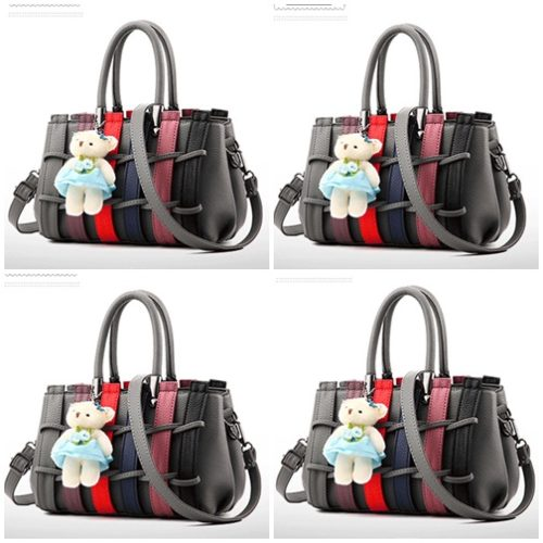 B2725 MATERIAL PU SIZE L27XH17XW13CM WEIGHT 850GR COLOR DARKGRAY